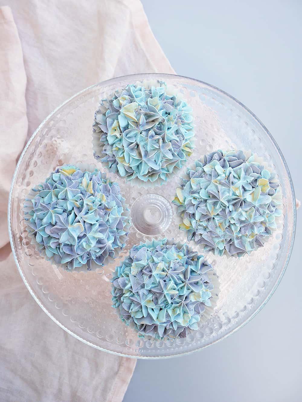 blåbär-hortensia-cupcakes