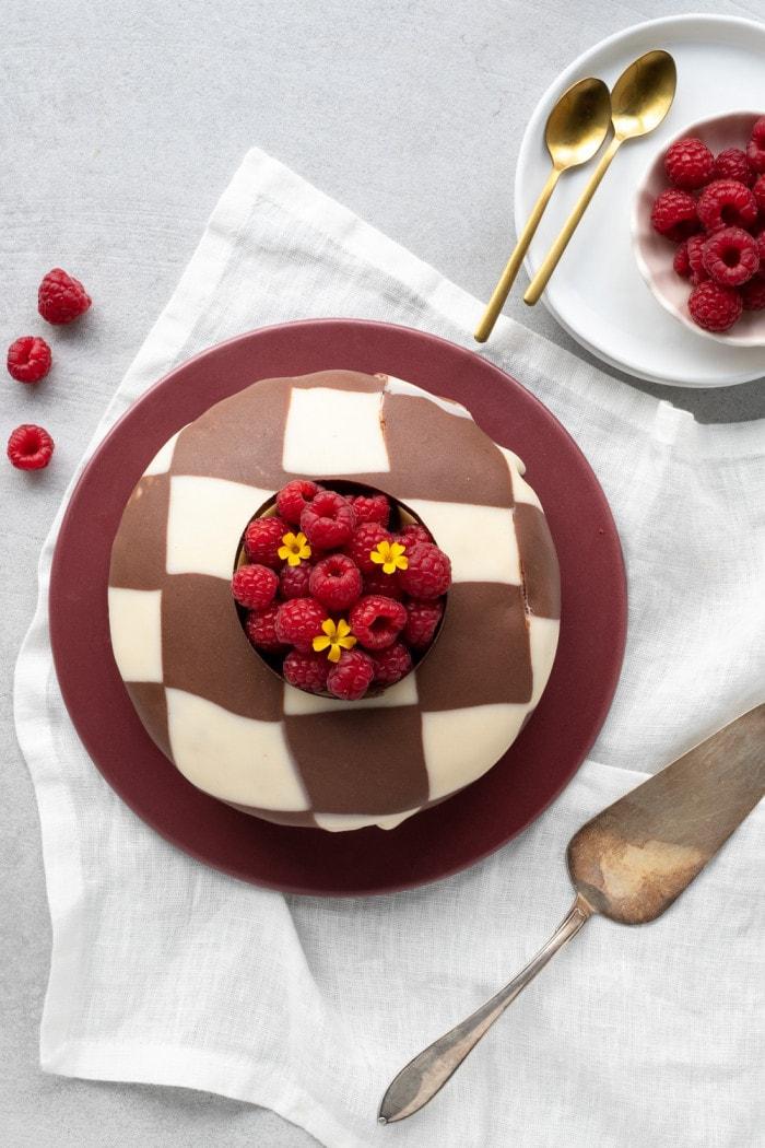 Prinsesstårta med choklad