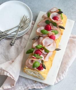 choux smorgastarta ost och skinka-2