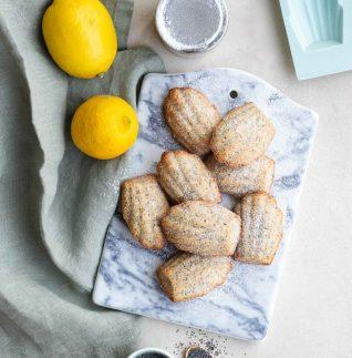 madeleines med citron och vallmo-1